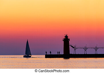 South Haven Twilight