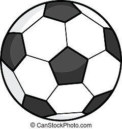 Soccer Ball  Illustration Isolated on white