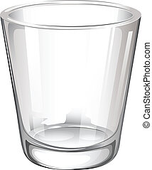 A plain drinking glass - Illustration of a plain drinking...