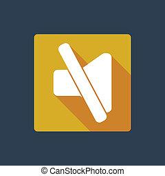 Mute button icon
