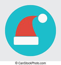 Santa hats icon
