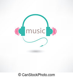colored music headphones