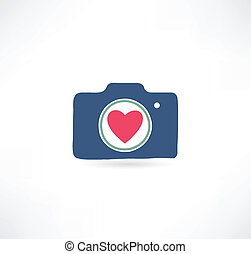 Camera icon. I love photography
