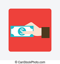 giving money icon