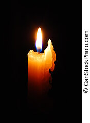 Candle - A candle in the dark