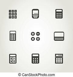 Calculator an icon