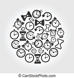 Hours a circle