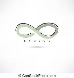 silver infinite symbol