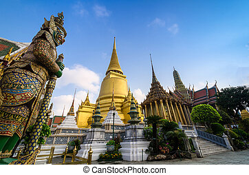 Wat Phra Kaeo, Temple of the Emerald Buddha and the home of...