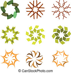 set of Islamic pattern, vector