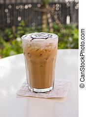 Mocca, café, hielo