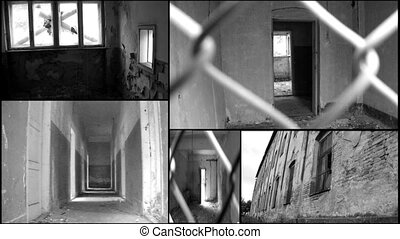 abandoned ruin building house like - Concentration...