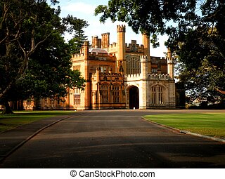 Sydney Government House - The beautiful government house in...