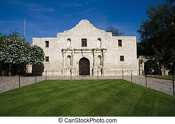Alamo - Historic Alamo in San Antonio, Texas