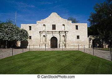 Alamo - Historic Alamo in San Antonio, Texas