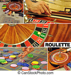 roulette collage