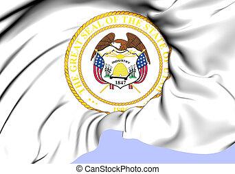 State Seal of Utah (Alternate), USA.