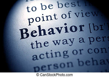 behavior - Fake Dictionary, definition of the word behavior