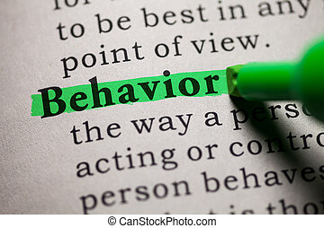behavior - Fake Dictionary, definition of the word behavior.