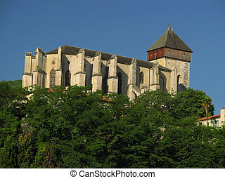 Cathedral, Saint Bertrand - Close to Pyrenees, in South...