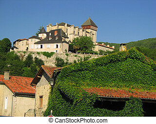 Saint Bertrand Village - Close to Pyrenees, in South France,...