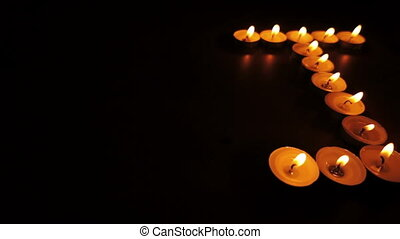 I Love You Candles Dolly