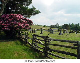 Pioneers of Yesterday - A cemetery sites off the Blue Ridge...