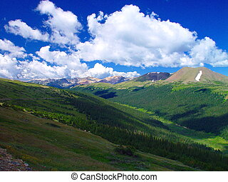 The birth of the Colorado - The valley where the Colorado...