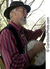 Carl Ross - Folk singer and entertainer, Great Smoky...