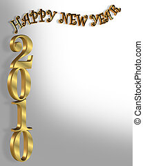 New Year 2010 Background