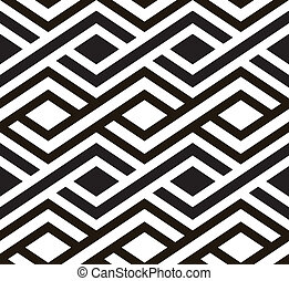 Retro seamless tile. Vector. - Abstract seamless pattern....