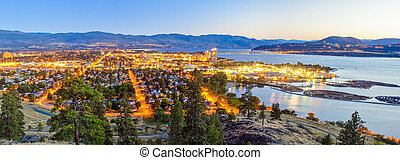 Panorama of Kelowna