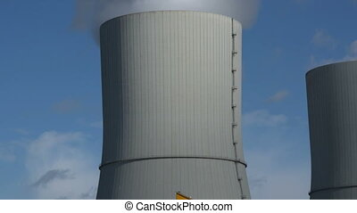coal power station cooling tower - A cooling tower tilt shot...