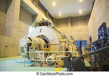 power electricity generators Electric power plant A large...