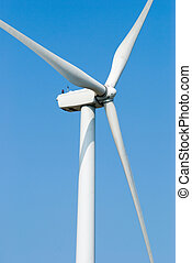 vento, poder, moinho de vento, electricidade