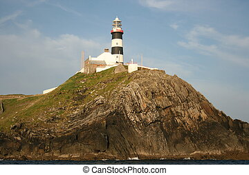 Light house of Old Head of Kinsale in Ireland