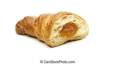 croissant, albaricoque