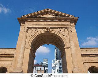 Porta Nuova in Milan