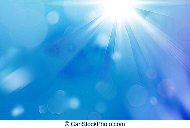 streaming sunlight