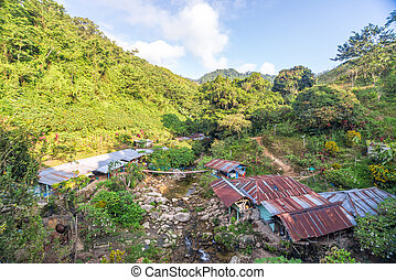 Rustic Shacks - Rustic shacks in a beautiful valley in the...
