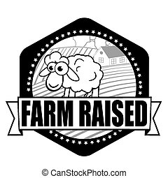 Farm Raised label
