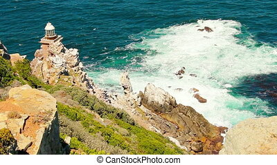 Lighthouse - Cape town Lighthouse next to the Cape of hope