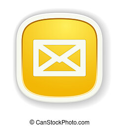 the glossy envelope icon