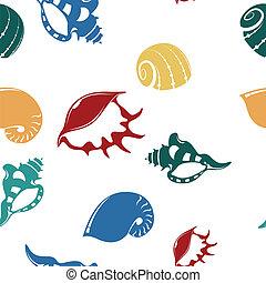 Shell seampess pattern 1
