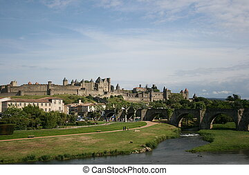 Carcassone in France