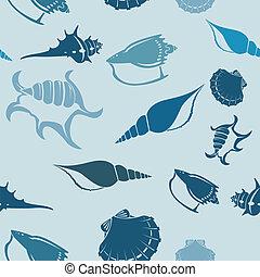 Shell seampess pattern 3