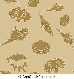 Shell seampess pattern 6