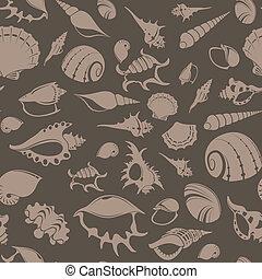 Shell seampess pattern 7
