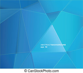 Abstract blue paper background with place for your text.
