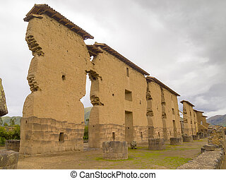 Wiracocha Temple, Cusco, Peru. - Ruins of the Wiracocha...